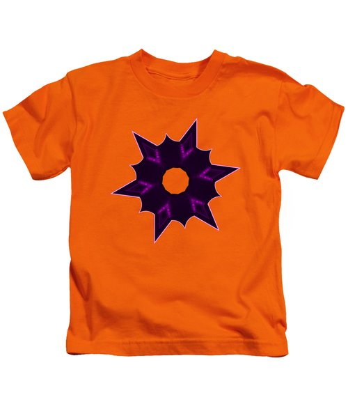 Star Record No. 8 Kids T-Shirt by Stephanie Brock