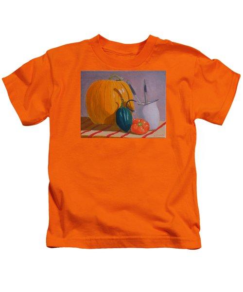 Start Of Fall Kids T-Shirt