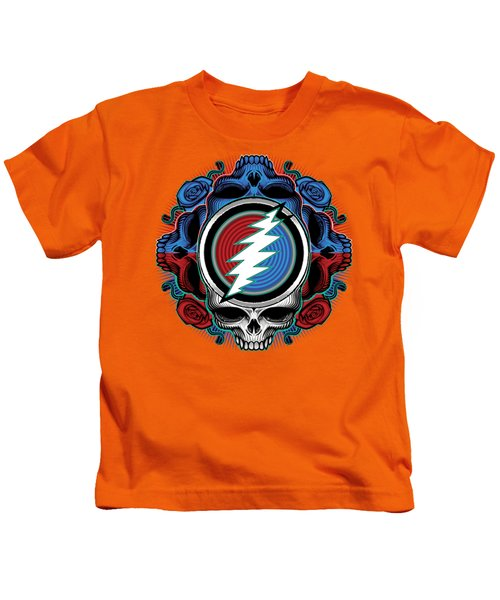 Steal Your Face - Ilustration Kids T-Shirt