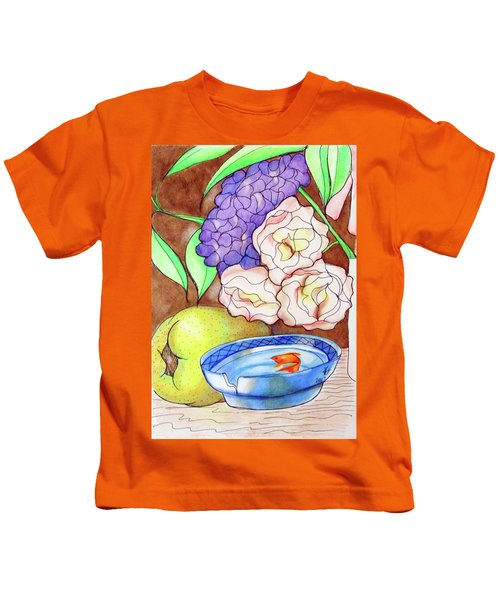 Still Life With Fish Kids T-Shirt