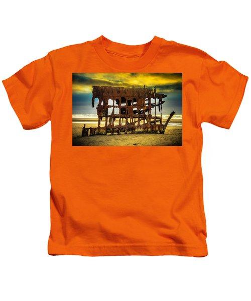 Stormy Shipwreck Kids T-Shirt