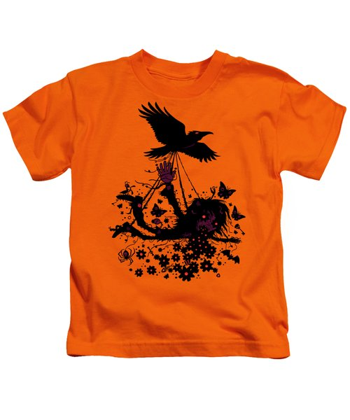 Strange Trip Through The Sky Kids T-Shirt