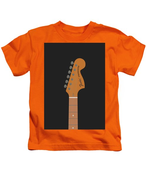 Stratocaster Guitar Kids T-Shirt