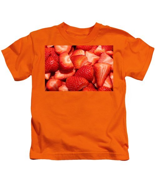 Strawberries 32 Kids T-Shirt