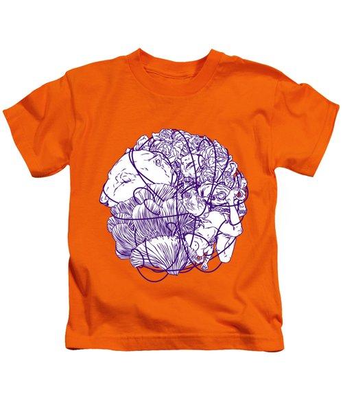 Stuff Kids T-Shirt by Evgenia Chuvardina