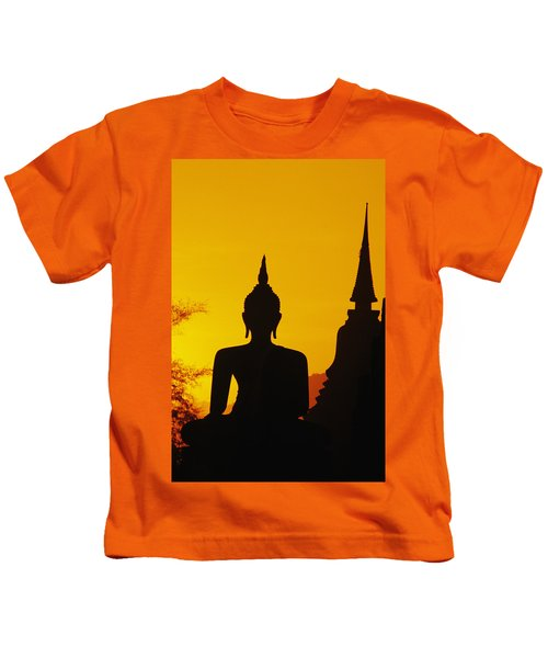 Sukhothai Temple Kids T-Shirt