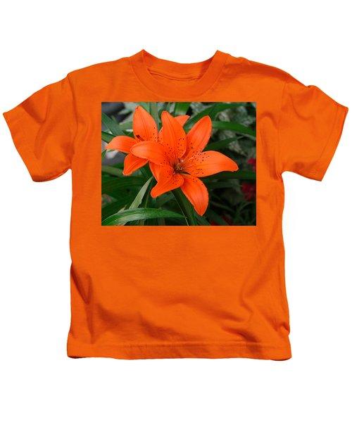 Summer Flower Kids T-Shirt