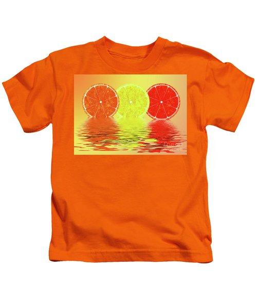 Orange,lemon,blood Orange Kids T-Shirt