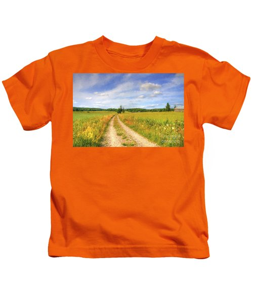 Summer Meadows Kids T-Shirt