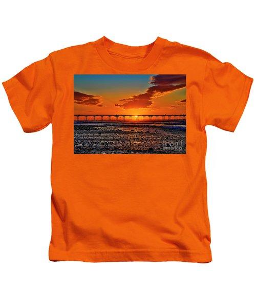 Summer Solstice Sunset Kids T-Shirt