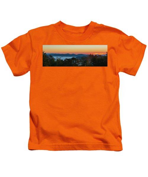 Summer Sunrise - Almost Dawn Kids T-Shirt