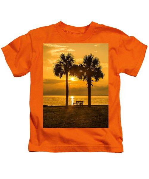 Summer Sunrise - Charleston Sc Kids T-Shirt