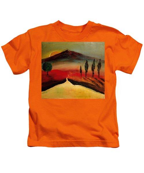 Sun Going Down Kids T-Shirt
