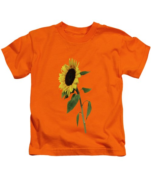 Sunflower Glow Kids T-Shirt