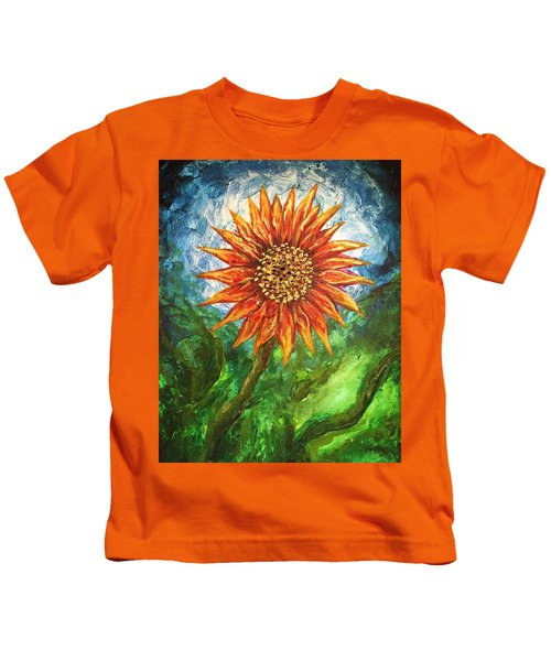 Sunflower Joy Kids T-Shirt