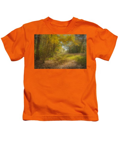 Sunlit Meadow In Borderland Kids T-Shirt