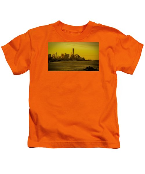 Sunrise Across The Hudson Kids T-Shirt