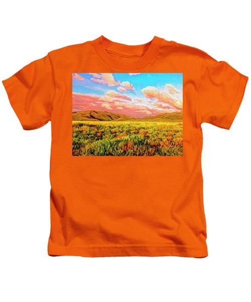 Sunrise At Montana De Oro Kids T-Shirt