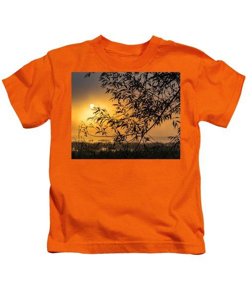 Sunrise Fog Kids T-Shirt