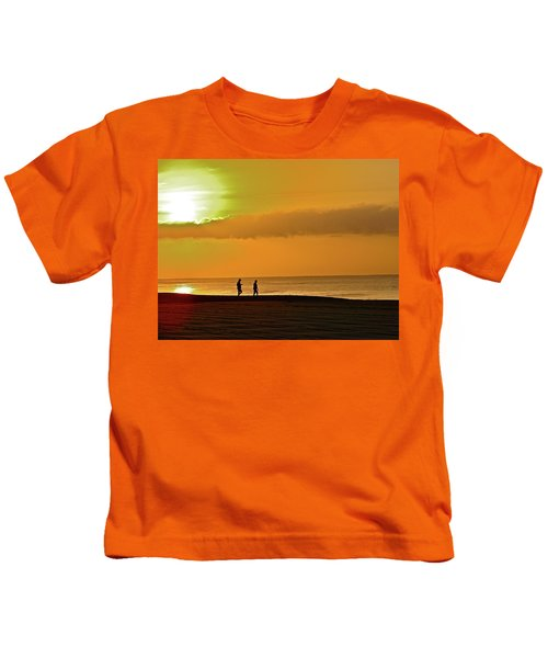 Sunrise Stroll Kids T-Shirt