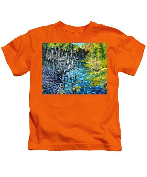 Sunrise Swamp Kids T-Shirt