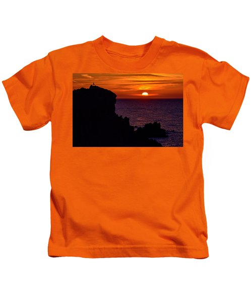 Sunset From Costa Paradiso Kids T-Shirt