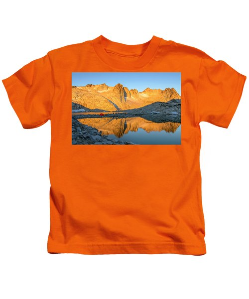 Sunset In The Enchantments Kids T-Shirt