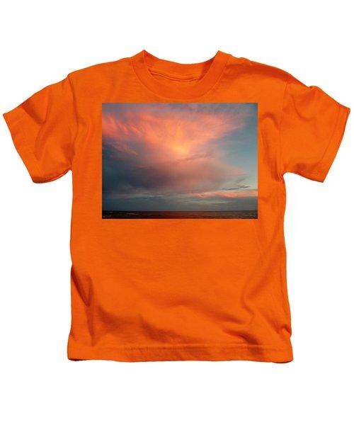 Sunset Moonrise Kids T-Shirt