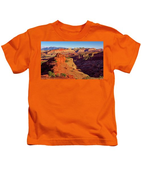 Sunset Point View Kids T-Shirt