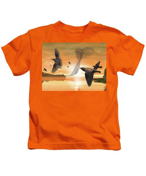 Murmuration Kids T-Shirt