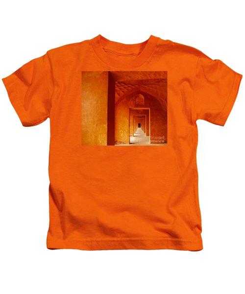 Doors Of India - Taj Mahal Kids T-Shirt