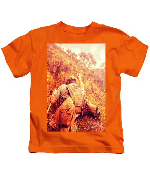 Tasmania Search And Rescue Ses Volunteer  Kids T-Shirt