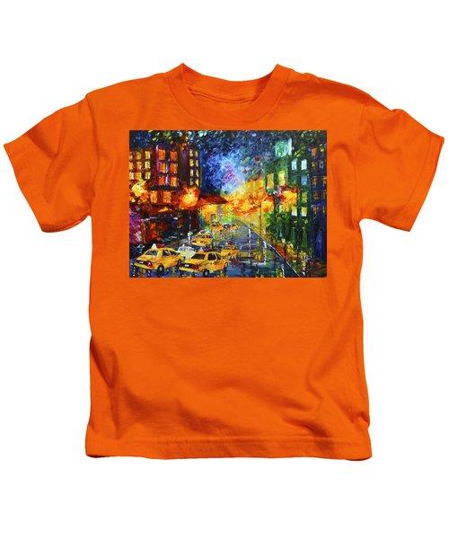 Taxi Cabs Kids T-Shirt