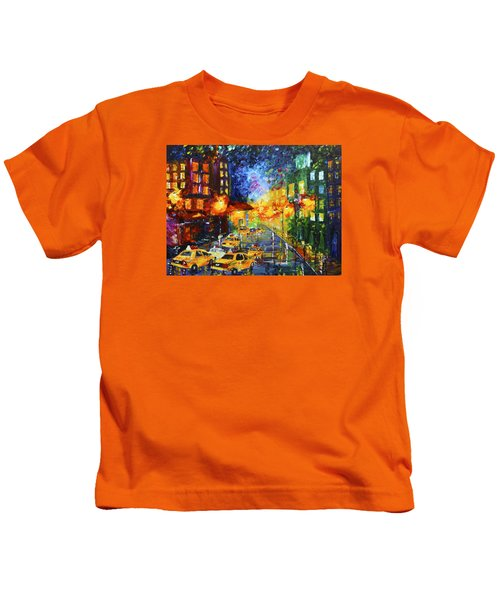 Taxi Cabs Kids T-Shirt