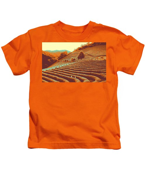 Tea Field Kids T-Shirt