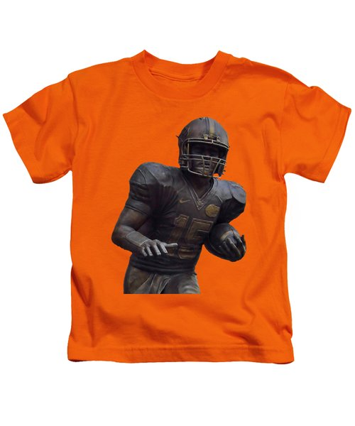 Tebow Transparent For Customization Kids T-Shirt by D Hackett