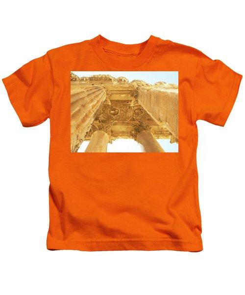 Temple Of Bacchus Kids T-Shirt