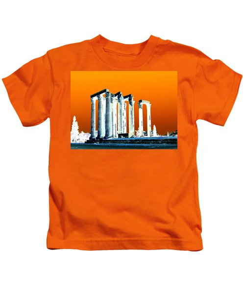 Temple Of Zeus Kids T-Shirt