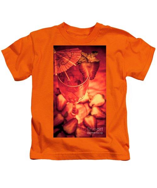 Tequila Sunrise Cocktail Kids T-Shirt