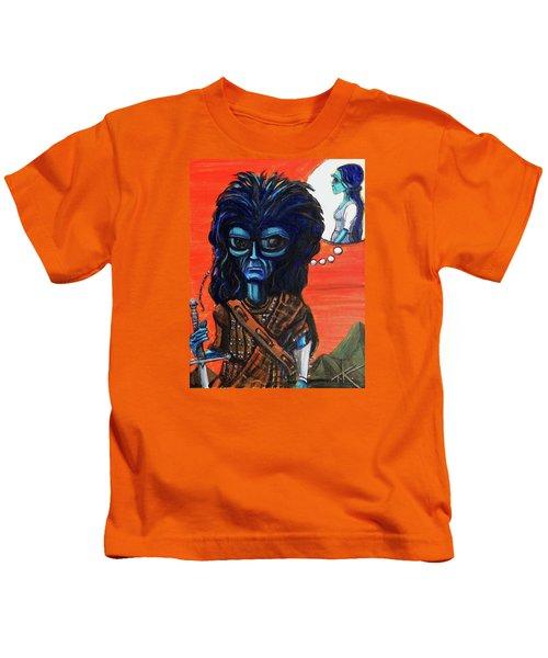 The Alien Braveheart Kids T-Shirt