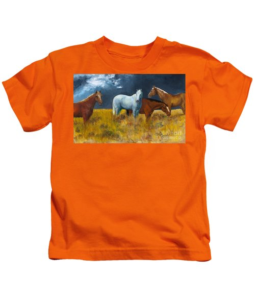 The Calm After The Storm Kids T-Shirt
