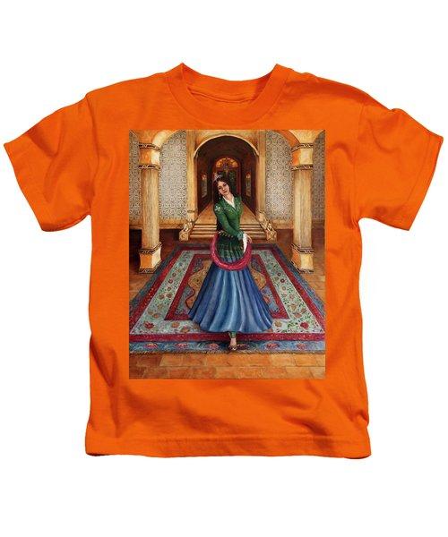 The Court Dancer Kids T-Shirt