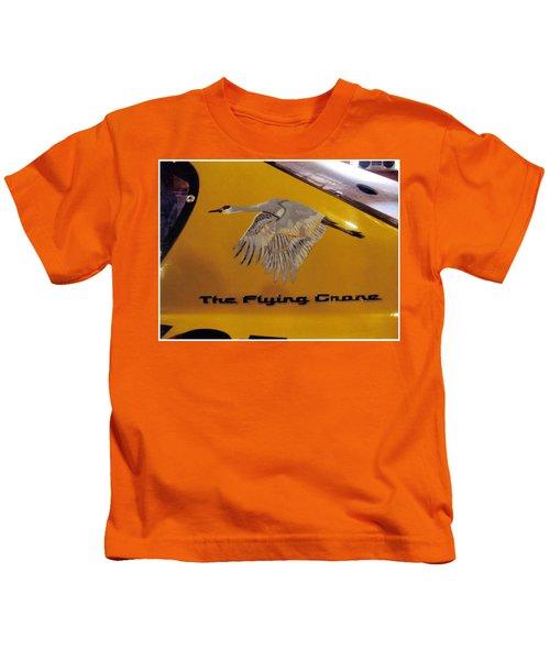 The Flying Crane Kids T-Shirt