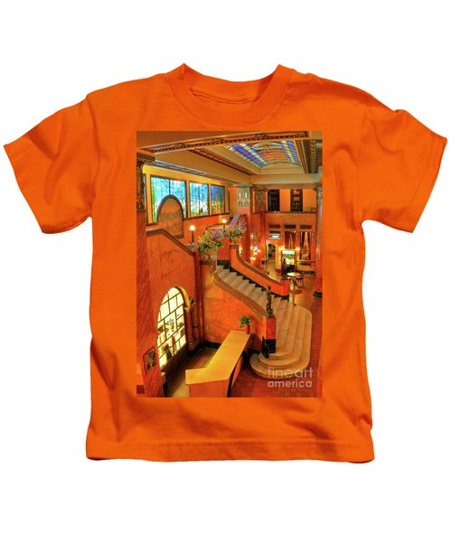 The Gadsden Hotel In Douglas Arizona Kids T-Shirt