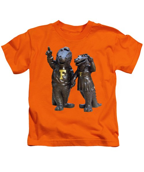 The Gators Transparent For T Shirts Kids T-Shirt by D Hackett