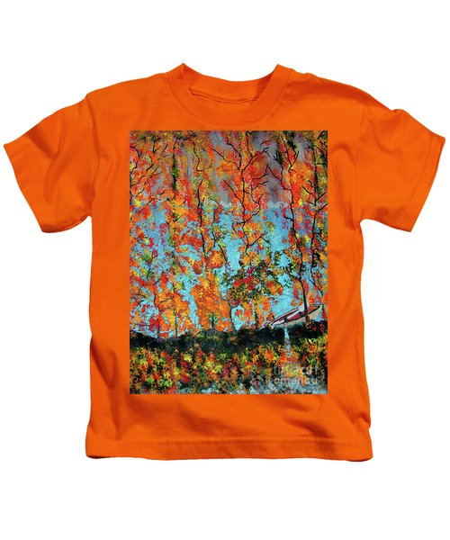 The Glory Of Autumn Kids T-Shirt
