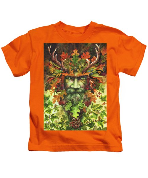 The Green Man Kids T-Shirt