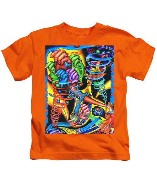 The Infinite Expansion Of A Cosmic Revelation Kids T-Shirt