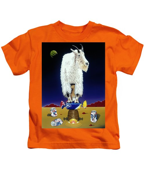 The Intoxicated Mountain Goat Kids T-Shirt