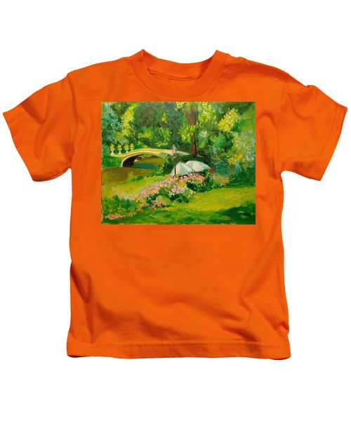 The Magnificent Bow Bridge Kids T-Shirt